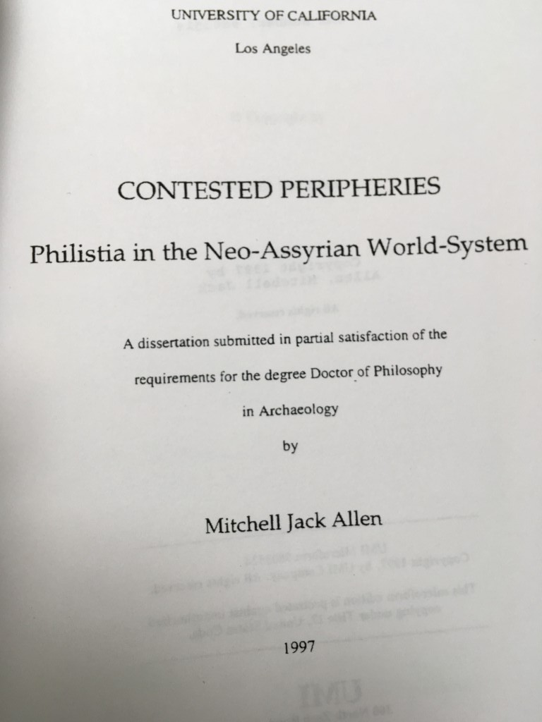 turning dissertation into a book
